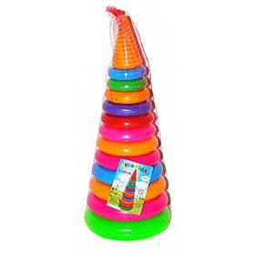 Игрушка пирамидка Бамсик №3 (висота 46см)