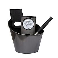 Набор аксессуаров для сауны и бани Harvia black