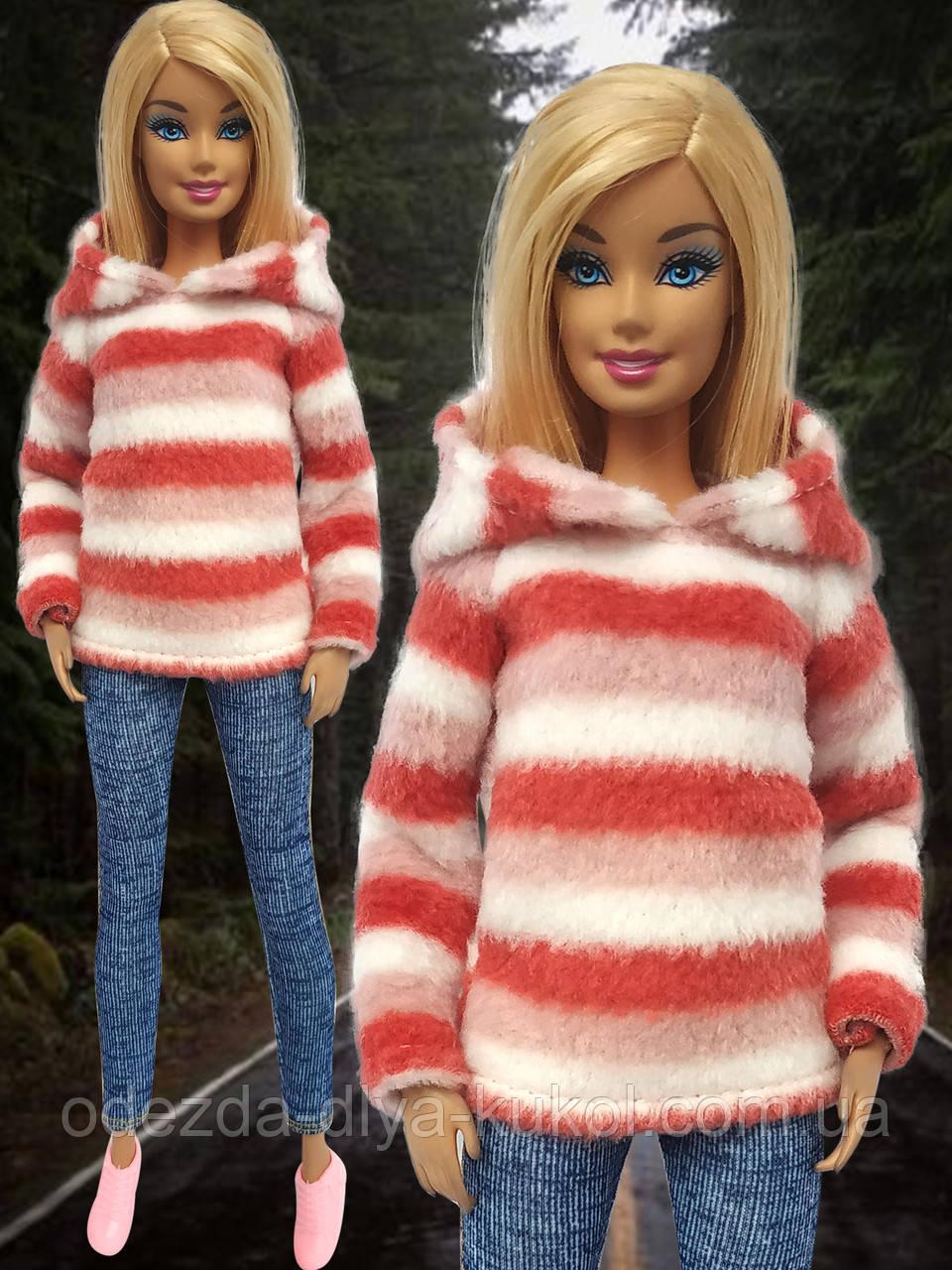 Одежда для кукол Барби - худи*