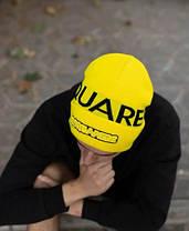 Шапка Dsquared2  / шапка дискваред / шапка женская/шапка мужская/желтый, фото 3