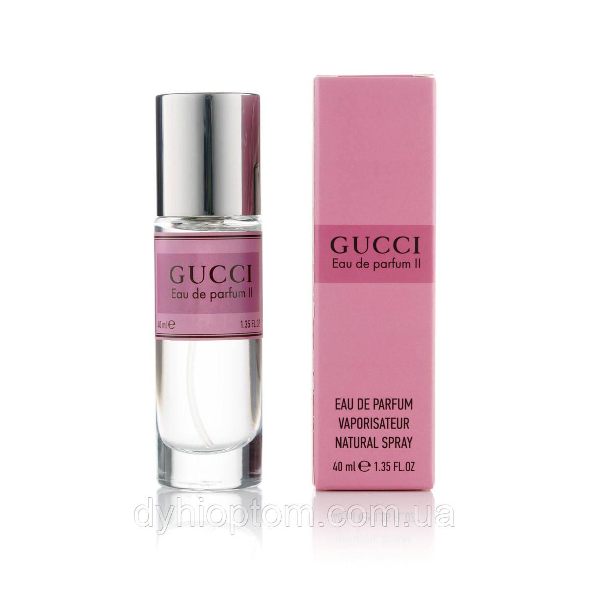 Мини парфюм женский 40ml Gucci Eau De Parfum II