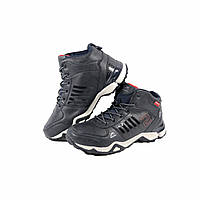Зимние мужские ботинки кроссовки на шнуровке