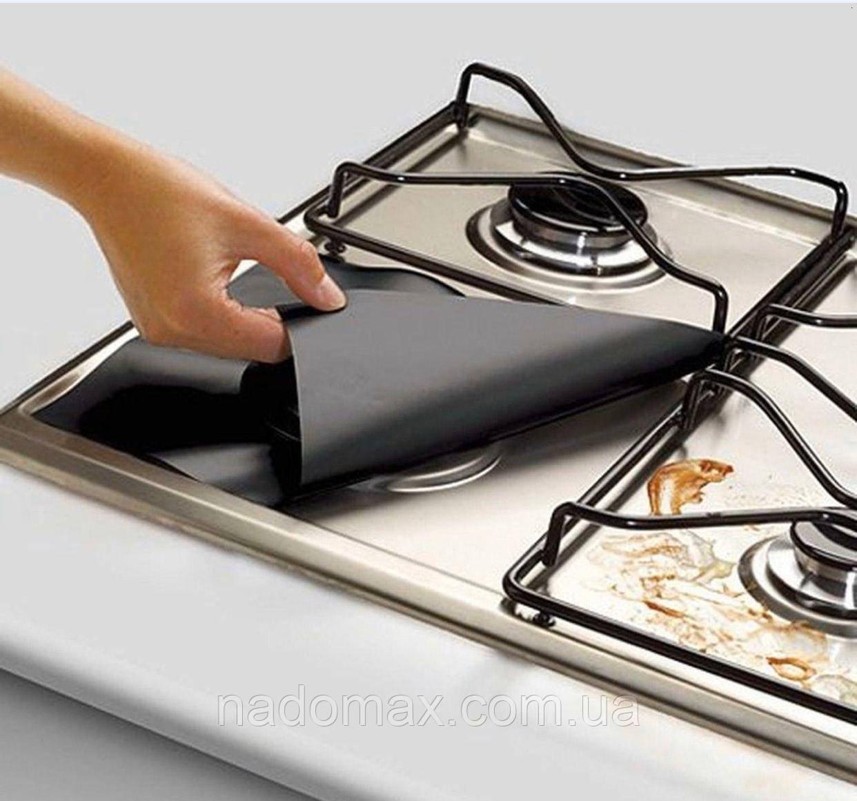 Силиконовый коврик для плиты