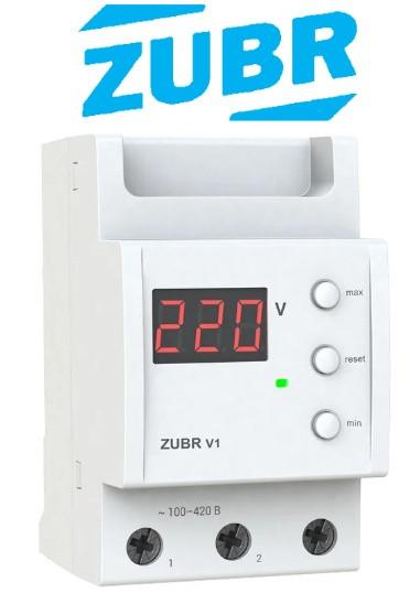 Цифровий однофазний вольтметр ZUBR V1