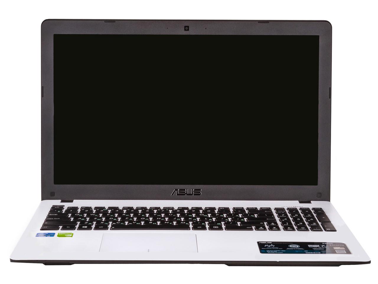Ноутбук ASUS X550C-Intel Celeron 1007U-1.8GHz-4Gb-DDR3-320Gb-HDD-W15.6-Web-(B-)- Б/У