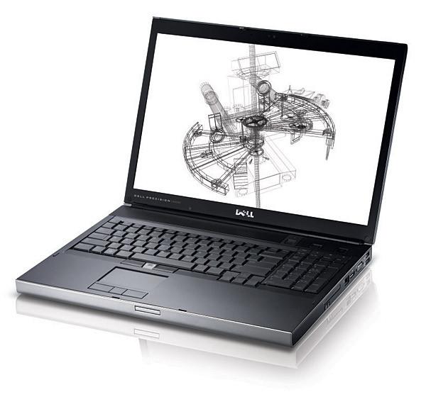 Ноутбук Dell Precision M6500-Intel Core i7-Q720-1.6GHz-4Gb-DDR3-500Gb-HDD-W17,3-FHD-DVD-R+NVIDIA Quadro FX