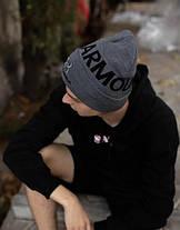 Шапка Under Armour  / шапка андер амур/ шапка женская/шапка мужская/серый, фото 3