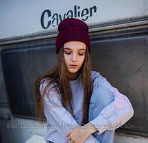 Шапка Under Armour  / шапка андер амур/ шапка женская/шапка мужская/бордовый, фото 3