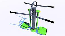 Тренажер для приводящих и отводящих мышц бедра, фото 3