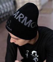 Шапка Under Armour / шапка андер амур/ шапка жіноча/шапка чоловіча/чорний, фото 2