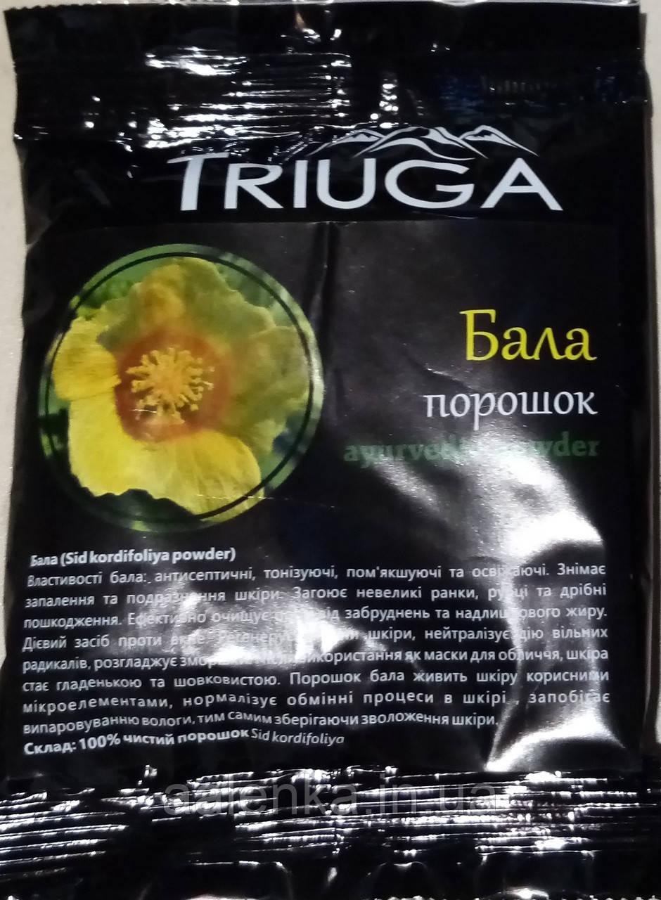 Натуральный аюрведический порошок  Бала 50г, Триюга