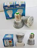 LED фитолампа для растений с полным спектром - 5 LED/ 220В., фото 3