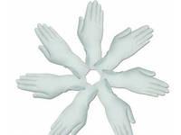"""Перчатки cмотровые латексные """"MEDICARE"""" (нестерильные, текстурированные, с пудрой) размер M"""