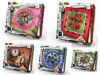 "Набор для творчества Настенные часы ""Embroidery clock"" EС-01-01, 02, 03, 04, 05 Danko toys"
