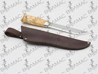 Чехол для ножа №9 кожаный черный 3,5/16 см