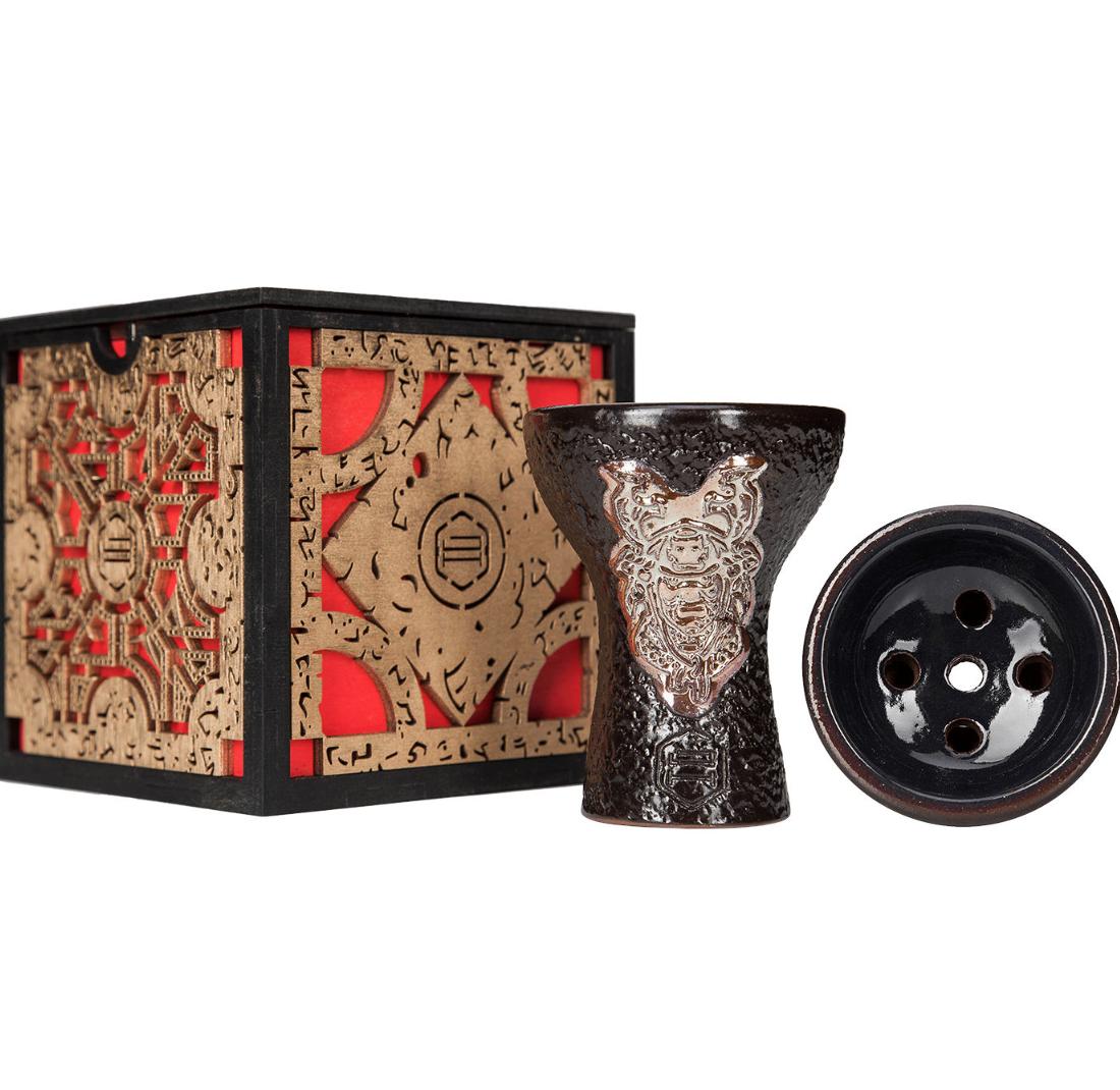 Чаша для кальяну Japona Hookah - Samurai Gold (дизайнерська упаковка)