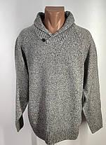 Чоловічий стильний светр MsS Розмір L ( З-44), фото 2