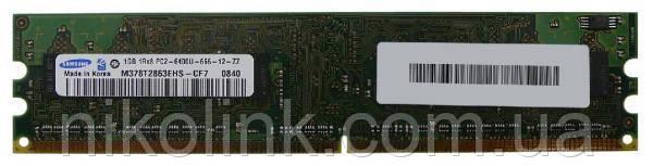 Память Samsung DDR2 1GB PC2-6400U (800Mhz) (M378T2863EHS-CF7)(8x1), б/у