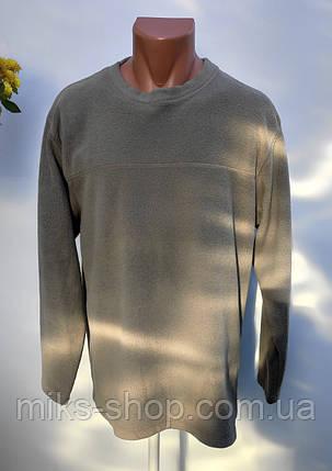 Чоловіча флісова кофта Розмір М ( З-45), фото 2