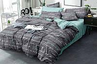 """Семейный комплект постельного белья """"Ранфорс"""" хлопок 100% (16037)"""