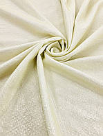 Ткань трикотаж люрекс цвет золото (ш. 145см), 100% п/э для пошива платьев, костюмов, блузок