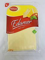 Сыр Edamer Milbona нарезка 400 грамм