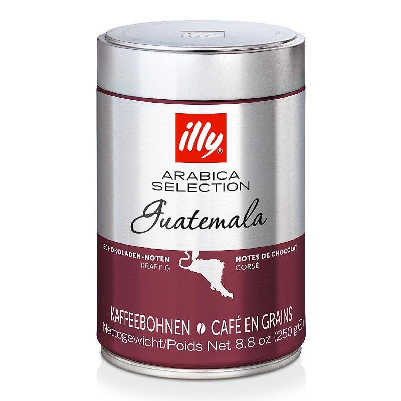 Кофе в зернах ILLY Monoarabica Guatemala ж/б, 250г
