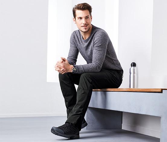Качественные мужские softshell брюки от tcm tchibo (Чибо), Германия, размер L-XL