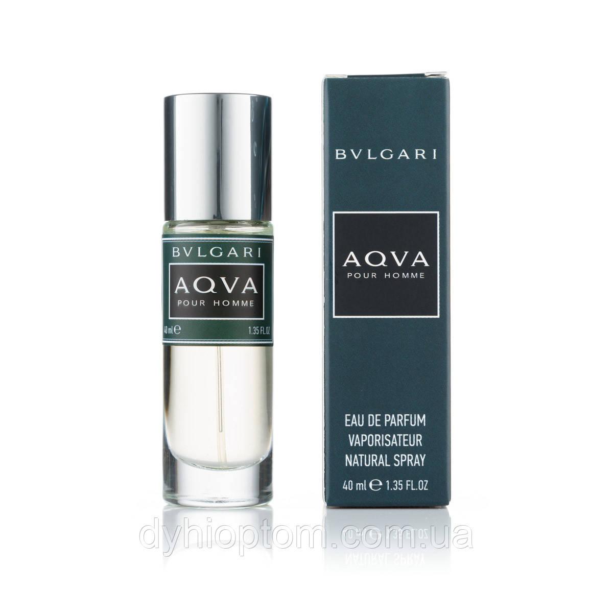 Мини парфюм мужской 40ml Bvlgari Aqva Pour Homme