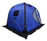 Палатка зимняя надувная 200*200*165 синяя