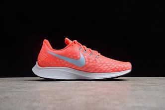 Кроссовки Nike Air Zoom Pegasus 35 Bright Crimson/Ice Blue-Sail 942851-600 оранжевые женские