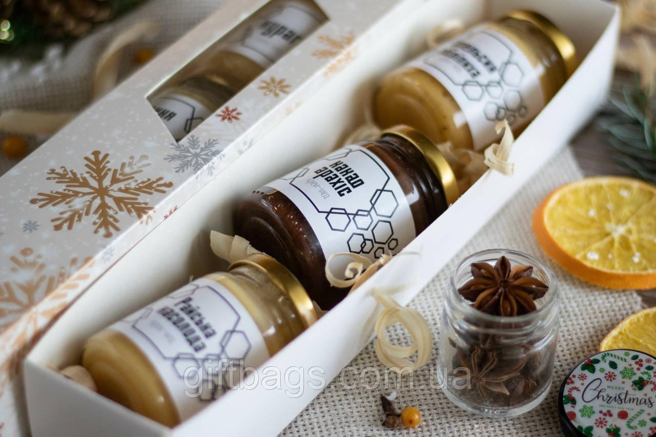 Подарунковий набір Крем-меду у святковій коробочці