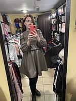 Жіноче плаття N.Story екошкіра коротке