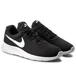 Кроссовки Nike Tanjun Black White Черные женские