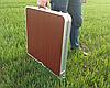 Sale! Стол алюминиевый чемодан для пикника со стульями Зеленый, фото 5