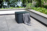 Комплект садовой мебели Allibert by Keter Novara Lounge Set искусственный ротанг ( Novara Set ), фото 4