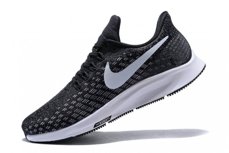 Кроссовки женские Nike Air Zoom Pegasus 35 Black/Gunsmoke/Oil Grey/White 942855-001 Sneakers Running Shoes