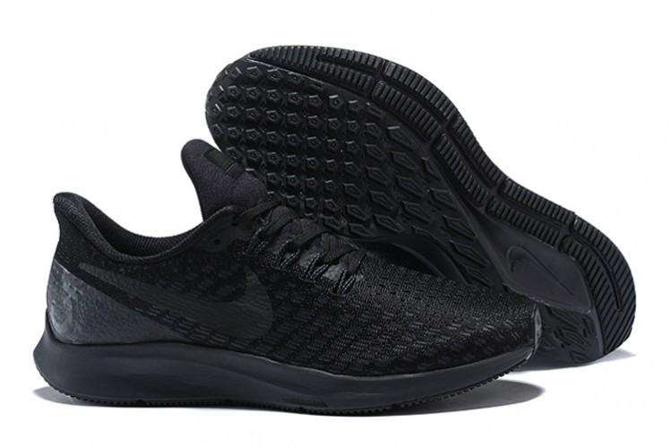 Кроссовки Nike Air Zoom Pegasus 35 Black/White/Oil Grey 942851-002 Sneakers Running Shoes мужские