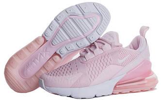 Женские кроссовки Nike Air Max 270 Pink White розовые