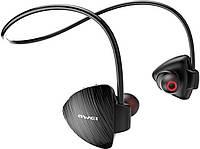 Спортивные Bluetooth наушники Awei A847BL Black