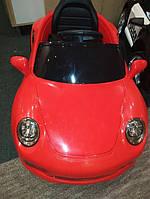 Детский электромобиль Porsche (красный цвет) с дистанционным пультом управления