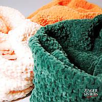 Вязаный шарф, снуд труба на заказ (любой цвет)