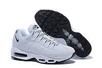 Мужские кроссовки Nike Air Max 95 White Black OG QS Белые