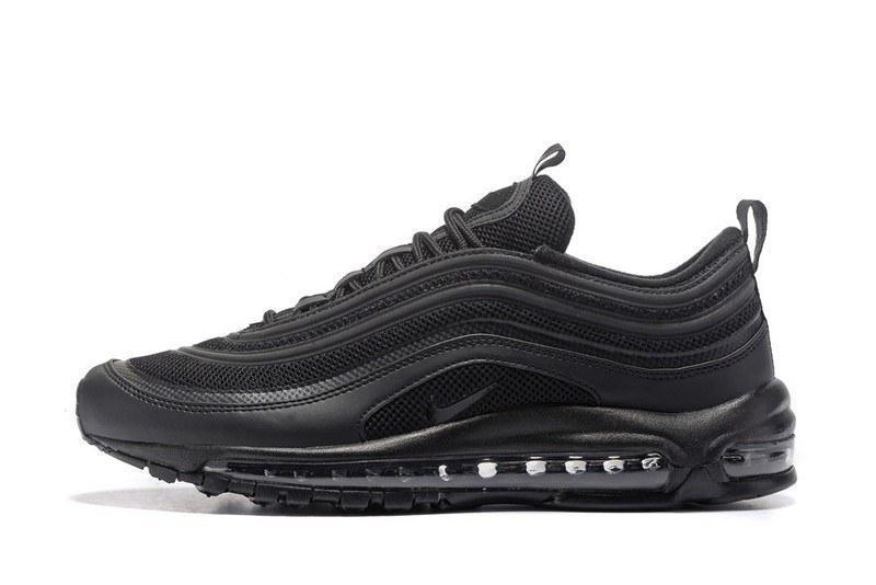 Женские кроссовки Nike Air Max 97 Black Черные