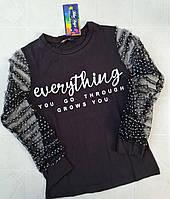 Блуза подростковая для девочек нарядная 1065., фото 1