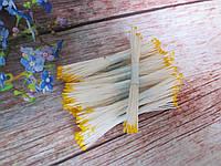 Тайські тичинки, ЖОВТІ, дрібні на світло-жовтої нитки, 23-25 ниток, 50 головок