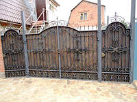 Изготовление кованых ворот под заказ