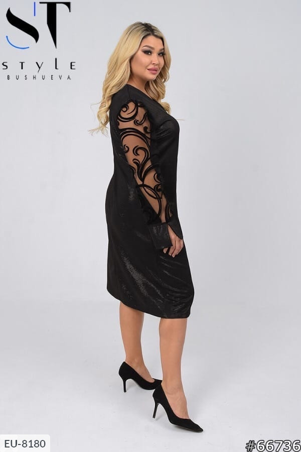 Женское платье большого размера, размеры 52-54, 56-58, 60-62
