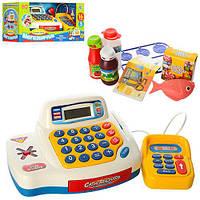 Касовий апарат 7020 UA калькулятор, продукти, муз.(укр.), світло, бат., кор., 43-18-18 см., шт
