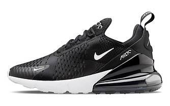 Женские кроссовки Nike Air Max 270 Black White Черные